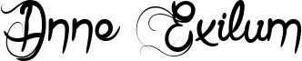 Anne Exilum Font