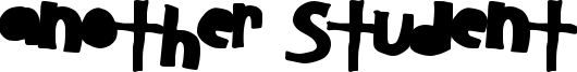 Another Student Font
