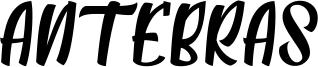 Antebras Font