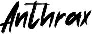 Anthrax Font