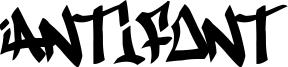 Antifont Font