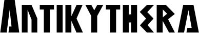 Antikythera Font
