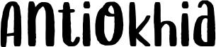 Antiokhia Font