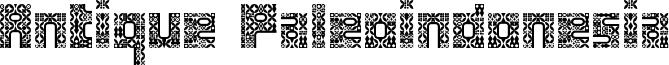 Antique Paleoindonesia Font