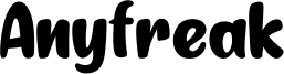 Anyfreak Font