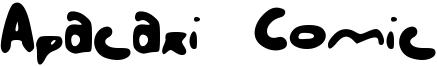 Apacaxi Comic Font