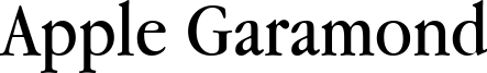 AppleGaramond.ttf