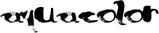 AquaColor Font