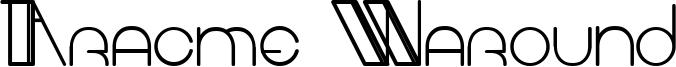 Aracme Waround Light.ttf