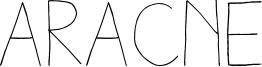 Aracne Font