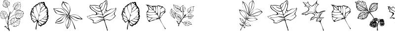 Arboris Folium Font