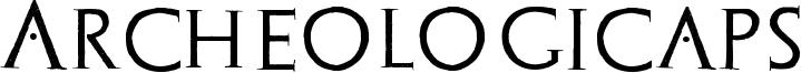 Archeologicaps Font