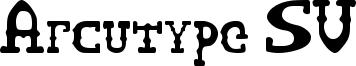 Arcutype SV Font
