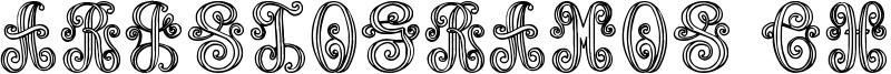 Aristogramos Chernow Font