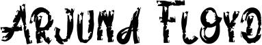 Arjuna Floyd Font