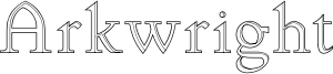 Arkwright Font