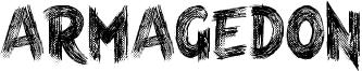 Armagedon Font