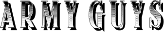 Army Guys Font