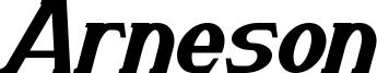Arneson Bold Italic.ttf