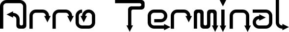 Arro Terminal Font