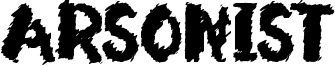 Arsonist Font