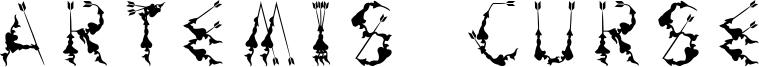 Artemis Curse Font