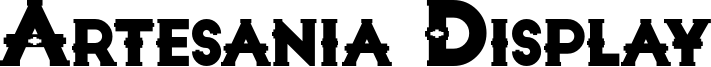 Artesania Display Font