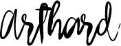 Arthard Font