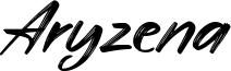 Aryzena Font