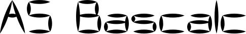 AS Bascalc Font