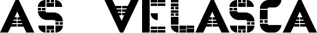 As-Velasca Font