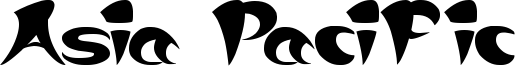 Asia Pacific Font