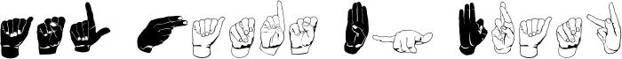 ASL Hands By Frank Font
