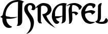 Asrafel Font