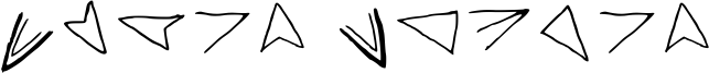Aster Cipher Font