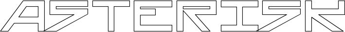 Asterisk-HollowBold.ttf