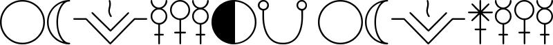 Astology Astrological TFB Font