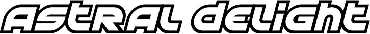 Astral Delight Font