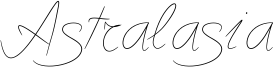 Astralasia Font