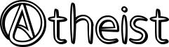 Atheist Font