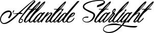 Atlantide Starlight Font