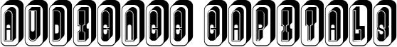 Audience Capitals Font