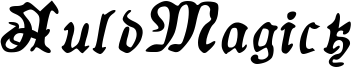 AuldMagick Bold Italic.ttf