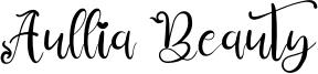 Aullia Beauty Font