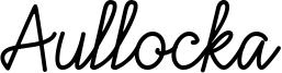 Aullocka Font
