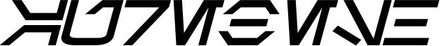 Aurebesh Bold Italic.ttf