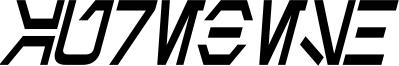 Aurebesh Condensed Bold Italic.ttf