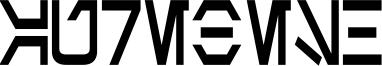 Aurebesh Condensed Bold.ttf