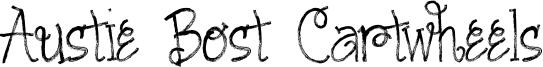 Austie Bost Cartwheels Font
