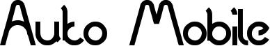 Auto Mobile Font